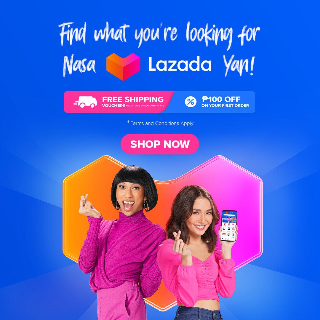 Nasa Lazada yan!